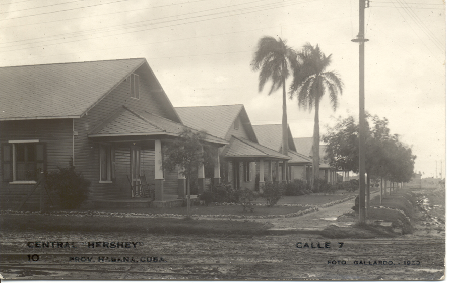 Casas del Central Hershey en Cuba